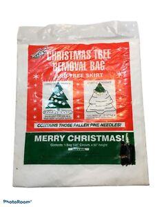 Christmas Tree Removal Bag & Tree Skirt 1 Piece