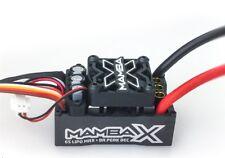 Castle Creations Mamba x, Sensored, 25.2V WP, 8A Pico BEC ESC, Datalogging -...