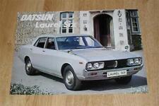 Datsun Laurel Six Brochure / Flyer 1974