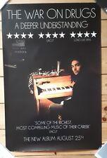 The War on Drugs A deeper Understanding LP  Official Promo Poster