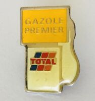 Gazole Premier Total Petol Oil Pump Logo Badge Pin France Rare Vintage (G4)