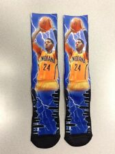 NBA Socks . . Paul George SIZE [ MEDIUM ] Player Storm Socks Indiana Pacers