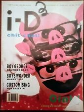 i-D Vintage Magazine June1987 No 48 London fashion post punk new wave Boy Georg