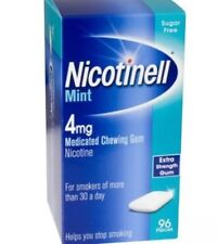 2x Nicotinell Mint Medicated Gum 4mg - 96 Pieces