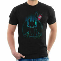 How To Train Your Dragon Shadow Night Fury Men's T-Shirt