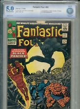 LOT-3 FANTASTIC FOUR TWO #52 X2 53 CBCS 5.0 6.0 1st Black Panther Appearance cgc
