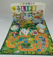 The Game of Life Board Game 2002 Replacement Pieces Cards Cars Buildings Money
