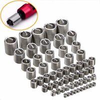 60pcs/set Stainless Steel Thread Repair Insert Kit M3 M4 M5 M6 M8 M10 M12