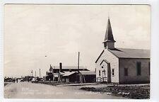 CHAPEL ON WOOD AVE, CAMP PHILLIPS: Kansas USA postcard (C11842)