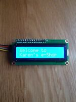 IIC/I2C/TWI 1602 16x2 LCD Display Module for Arduino