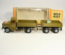 1:43 ZIL 4331 + trailer Made in USSR Russian truck URSS