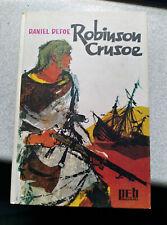 Robinson Crusoe Buch Daniel Defoe PEB Bücherei Geschichte klassiker