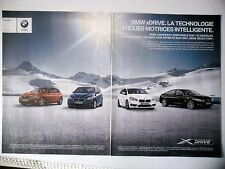 PUBLICITE-ADVERTISING :  BMW xDrive [2pages] 2016 Voitures