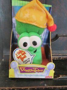 Veggie Tales Talk Hum & Glow Junior Asparagus Bedtime Friend NEW IN BOX