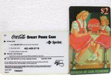 Coca-Cola - SCORE BOARD-SPRINT PHONE CARD n° 04 - sc. 02-98-scheda telefonica