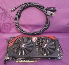 More details for msi amd radeon r9-280x 3gb. fully working with hdmi and dp cables.