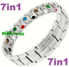 7in1 TITANIUM strong Magnetic Energy Armband Power Bracelet Bio GERMANIUM 69874