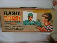 Louis Marx Flashy flckers circa 50s & 60s complete set in excellent condition