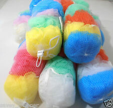 LOT OF 40 SMALL BATH SPONGES ASSORTED COLOR