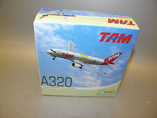 "Dragon WINGS 56323 TAM A320 ""WORLD CUP 2010"" PR-MAP 1:400 Diecast Model PLANE"