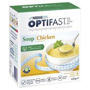 Optifast VLCD Weight Loss Diet Chicken Soup 8s