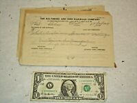 14 - 1924 B&O RR Locomotives Repaired Form 1002A for Central Railroad of NJ