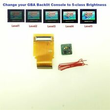 40 Pins Backlight Ribbon Cable + 5 class Brightness PCB For Game Boy Advance GBA