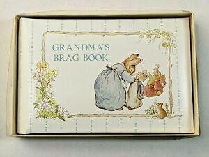 NOS New Vintage C.R. Gibson Beatrix Potter Grandma's Brag Book Photo Album