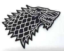 Game of Thrones - STARK House Logo NEU - Uniform Patch Aufnäher - zum Aufbügeln