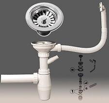Sifon Ablaufgarnitur Spülenablauf Spülen Siebkorbventil Siphon Geruchsverschluss