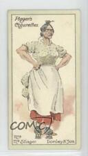 1923 Player's Characters from Dickens A Series of 50 43 Mrs Mac Stinger Card 1h2