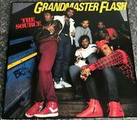 LP Vinyl Alnum Grandmaster Flash The Source 960 476-1 1986 EX/EX