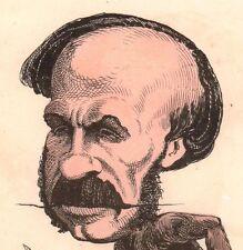 Caricature Singe Victor Fialin de Persigny Second Empire Commune de Paris