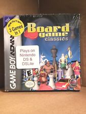 Board Game Classics (Nintendo Game Boy Advance, 2005)NEW!! 3 Games in One!!!!