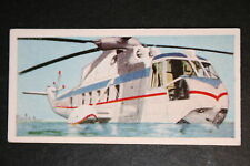Sikorsky S61   Chicago Helicopter Airways  1960's Illustrated Card
