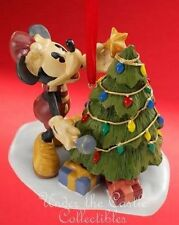 Disney Christmas Holiday Xmas Decoration MICKEY MOUSE TREE STAR ORNAMENT