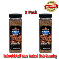 McCormick Grill Mates Montreal Steak Seasoning 2 Pack, Bottle, Spices, 29 Ounce