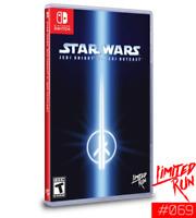 Switch Limited Run #69: Star Wars Jedi Knight II: Jedi Outcast LRG SEALED