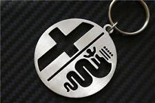 For ALFA ROMEO keyring keychain Schlüsselring porte-clés BRERA 147 166 159 MITO