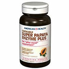 Super Papaya Enzyme Plus 90 Chewable Wafers