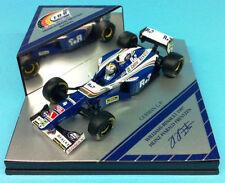 Modellini statici di auto da corsa blu Williams