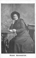 POSTCARD    PERSONS   ROSIE  BANNISTER