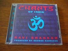 RAVI SHANKAR Chants Of INDIA George Harrison CD Album 1997 RARE World Music
