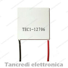 CELLA DI PELTIER TEC1-12706 12V 6A 91W Thermoelectric Cooler Cooling 40x40