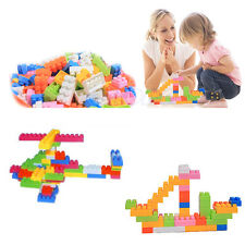 144Pcs Plastic Puzzle Educational Building Block Bricks Toy For Children Kid
