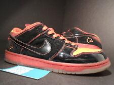 2005 Nike Dunk Low Premium SB HAWAII PELE BLACK ORANGE FLASH RED 313170-003 10