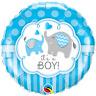 """18"""" Elephants Its A Boy Balloon, Elephant Baby Shower, Elephant Balloon, Reveal"""