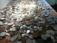 coin 1000 coins Large mix old and new Lot of 1000 FOREIGN COINS 1000 world Coin.