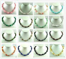 Beautiful mix agate Handmade Gemstone Jewellery Necklace AAA_8