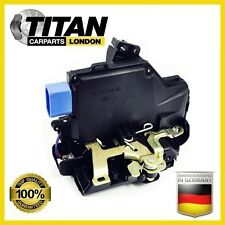 VW GOLF V PLUS JETTA 3 TOURAN DOOR LOCK MECHANISM FRONT LEFT UK PASSENGER SIDE